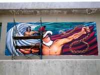 """Arte público no es """"decorar"""" edificios con obras grandotas: Polo Castellanos"""