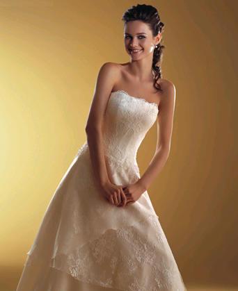 La controversia con los vestidos de novia