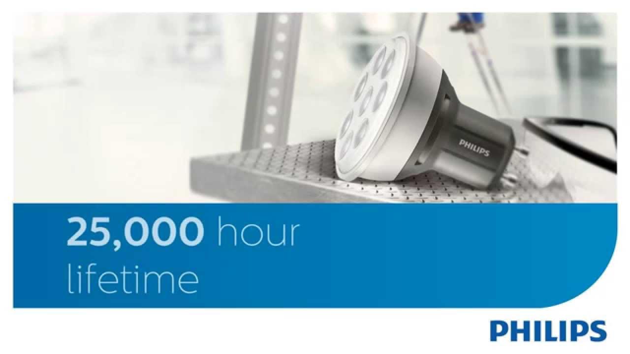 Vida de una bombilla LED Philips