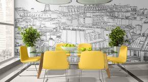 Cómo escoger el papel pintado ideal para tu casa